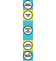 Aqua Oasis: Behavior Clip Chart Mini Bulletin Board