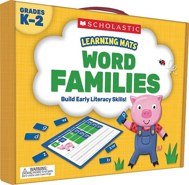 Learning Mats: Word Families by