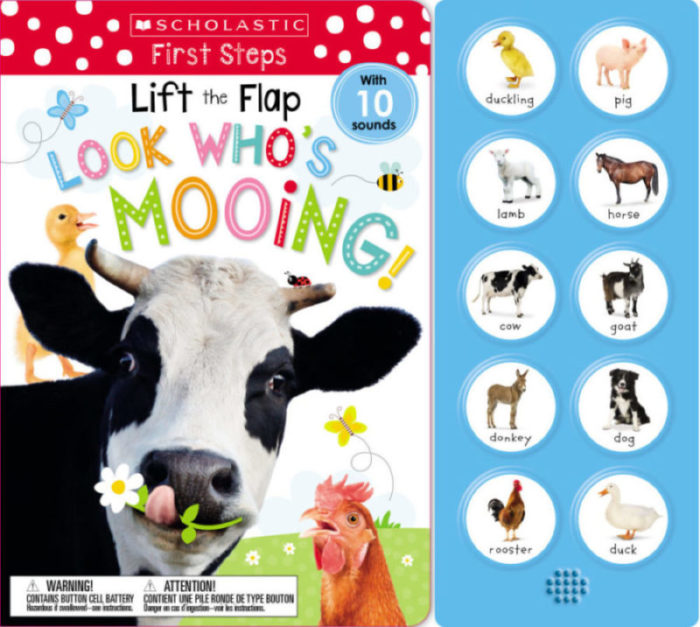 Scholastic Early Learners: Lift The Flap: Look Who's Mooing!