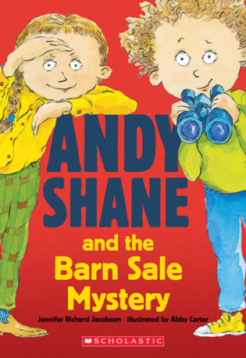 Andy Shane: Andy Shane and the Barn Sale Mystery