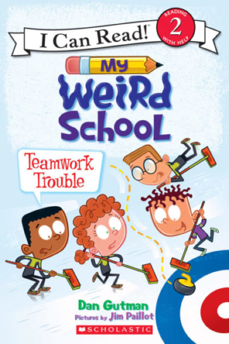 I Can Read! Level 2-My Weird School: Teamwork Trouble