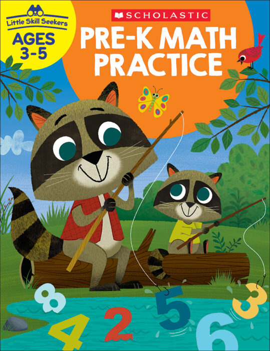 Little Skill Seekers: Pre-K Math Practice Workbook