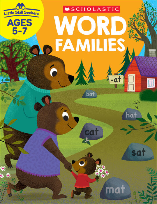 Little Skill Seekers: Word Families Workbook