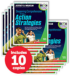 Deepening Comprehension with Action Strategies (10-copy pack)