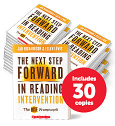 The Next Step Forward in Reading Intervention: The RISE™ Framework (30-copy pack)