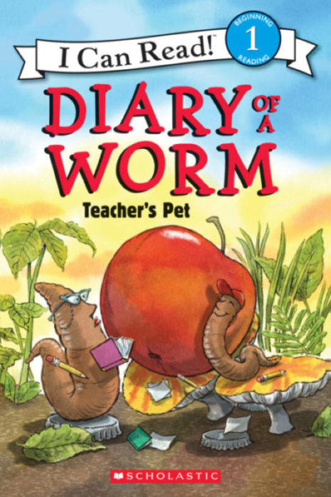 I Can Read! Level 1 - Diary of a Worm: Teacher's Pet