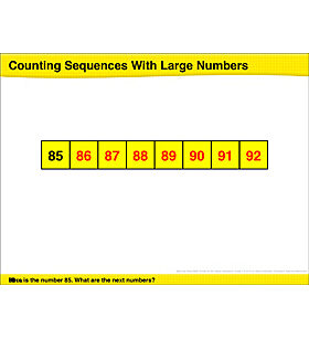 Math Review: Count With Larger Numbers, Comparing Numbers