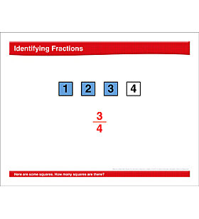 Math Review: Fractions, 2-Digit Addition, Area, Multiplication