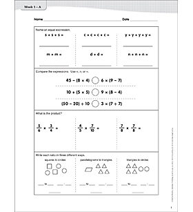 Math Review: Expressions, Multiplying Fractions, Ratios