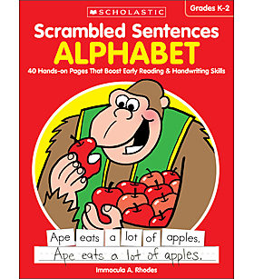 Scrambled Sentences: Alphabet