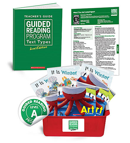 Guided Reading Text Types, 2nd Edition Level A