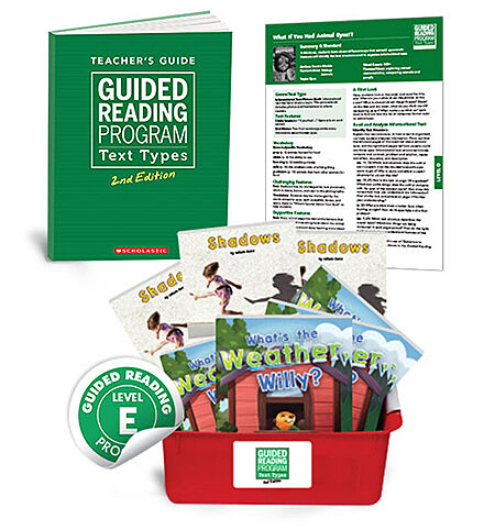 Guided Reading Text Types, 2nd Edition Level E
