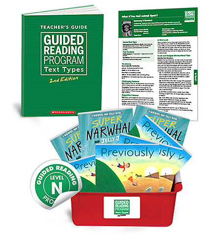 Guided Reading Text Types, 2nd Edition Level N