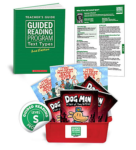 Guided Reading Text Types, 2nd Edition Level S