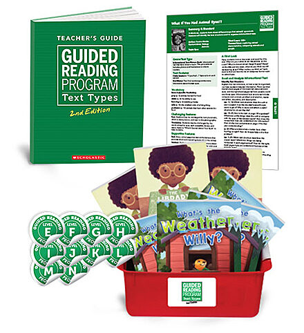 Guided Reading Text Types 2nd Edition Grade 2 (Levels E-N)