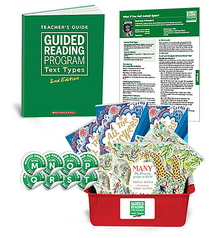 Guided Reading Text Types 2nd Edition Grade 4 (Levels M-T)