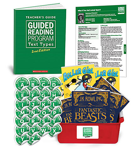 Guided Reading Text Types 2nd Edition Complete Set (Levels A-Z)