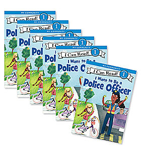 Guided Reading Set: Level I - I Want to Be a Police Officer
