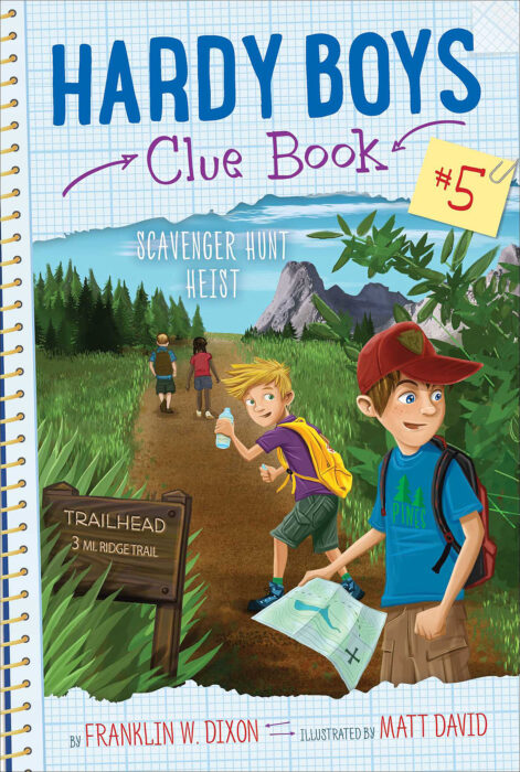 Hardy Boys Clue Book: Scavenger Hunt Heist