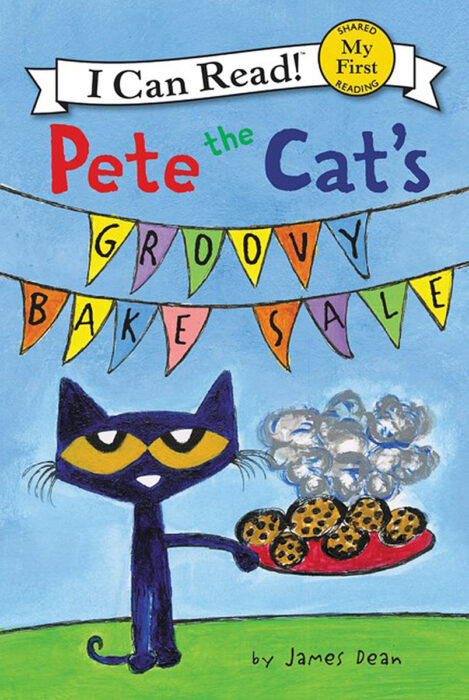 I Can Read! - Pete the Cat: Pete the Cat's Groovy Bake Sale