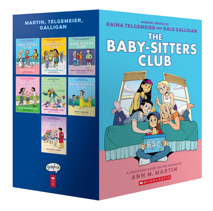 The Baby-Sitters Club Graphix #1-7 Box Set: A Graphix Collection