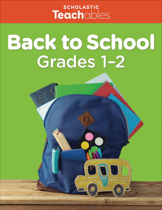 Back to School Grades 1-2 Pack