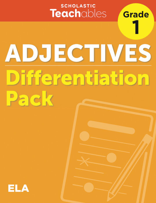Adjectives Grade 1 Differentiation Pack