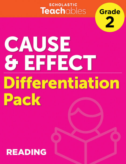 Cause & Effect Grade 2 Differentiation Pack