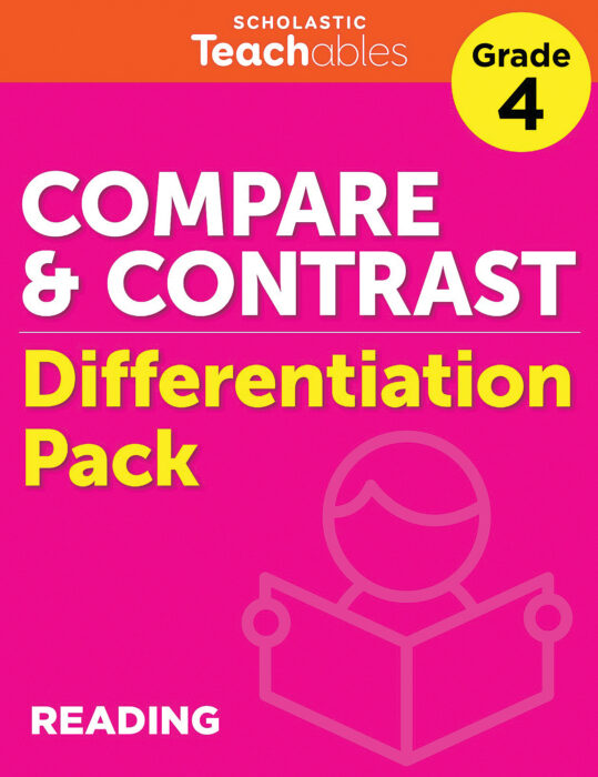 Compare & Contrast Grade 4 Differentiation Pack