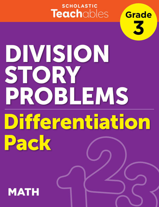 Division Story Problems Grade 3 Differentiation Pack