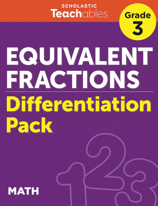 Equivalent Fractions Grade 3 Differentiation Pack