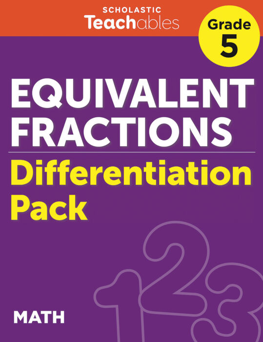 Equivalent Fractions Grade 5 Differentiation Pack