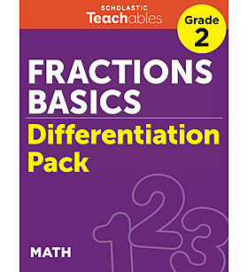 Fractions Basics Grade 2 Differentiation Pack