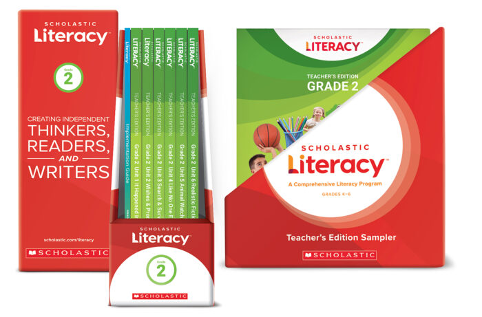 Scholastic Literacy TE &IG Sample Kit Gr 2