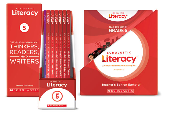 Scholastic Literacy TE &IG Sample Kit Gr 5