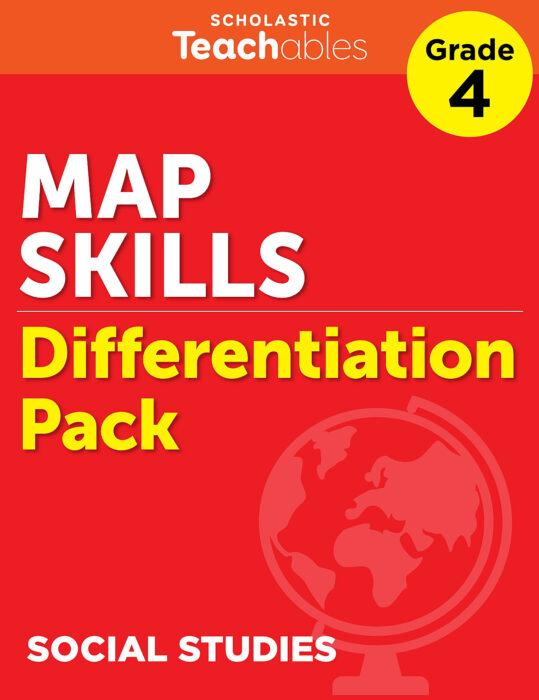 Map Skills Grade 4 Differentiation Pack