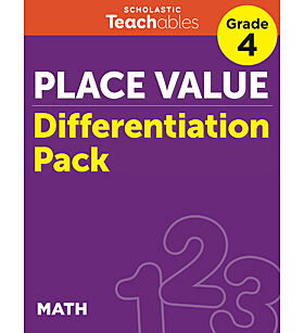 Place Value Grade 4 Differentiation Pack
