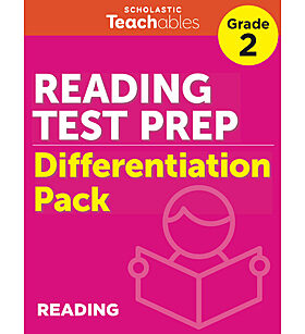 Reading Test Prep Grade 2 Differentiation Pack