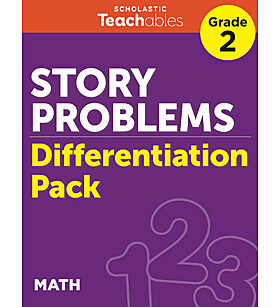Story Problems Grade 2 Differentiation Pack