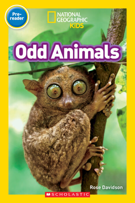 National Geographic Kids Readers - Pre-Reader: Odd Animals