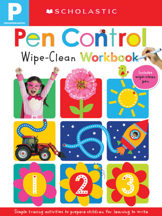 Wipe Clean Workbooks - Pen Control (Scholastic Early Learners)