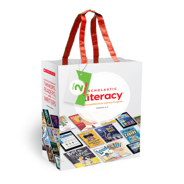 Scholastic Literacy  Gr 2 Presentation Bag