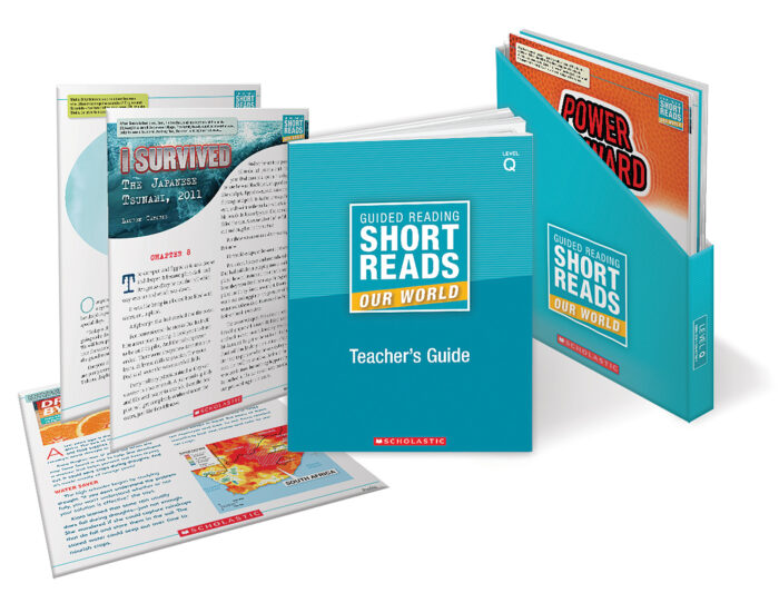 Guided Reading Short Reads: Our World Level Q