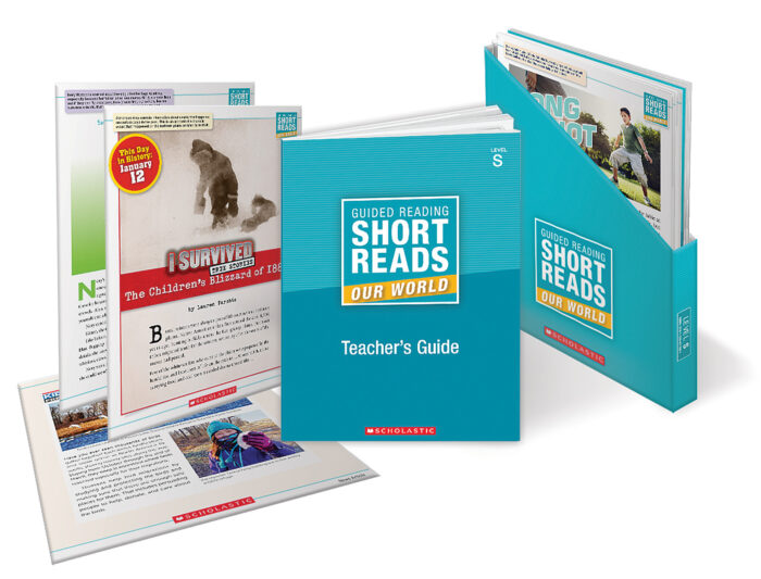 Guided Reading Short Reads: Our World Level S