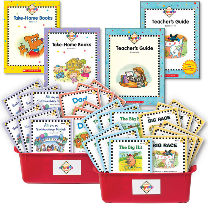 Scholastic Phonics Readers
