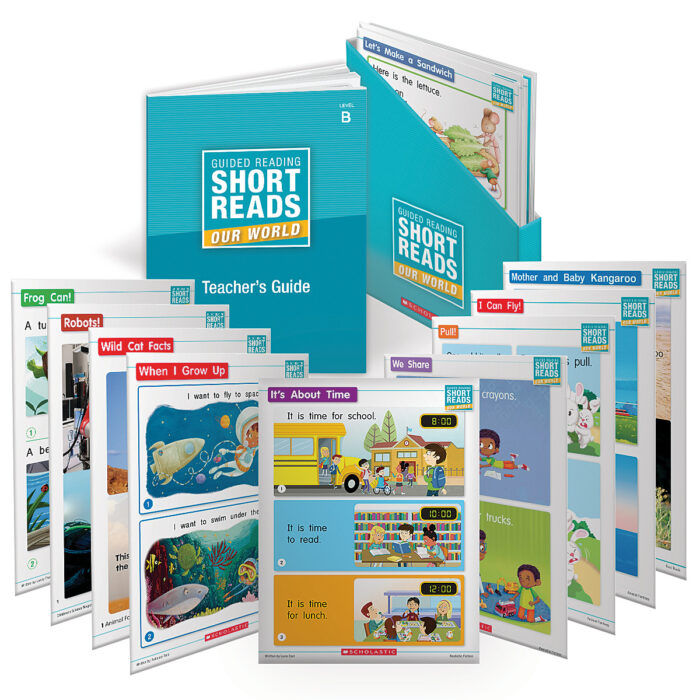 Guided Reading Short Reads: Our World Grade K (Levels A-D)
