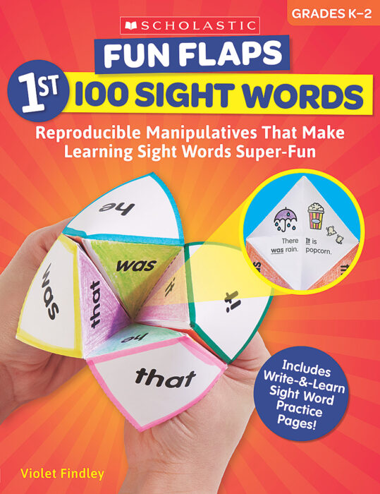Fun Flaps: 1st 100 Sight Words