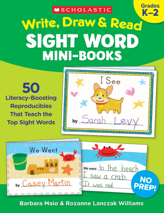 Write, Draw & Read Sight Word Mini-Books