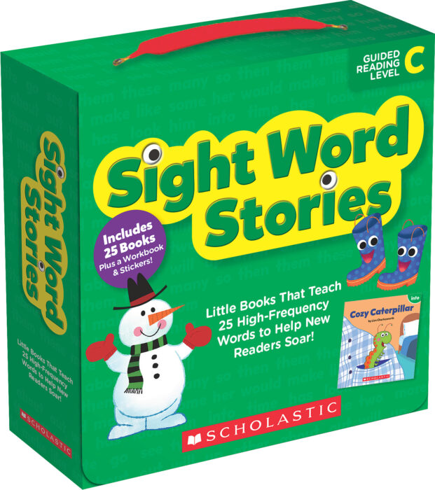 Sight Word Stories: Level C (Parent Pack)