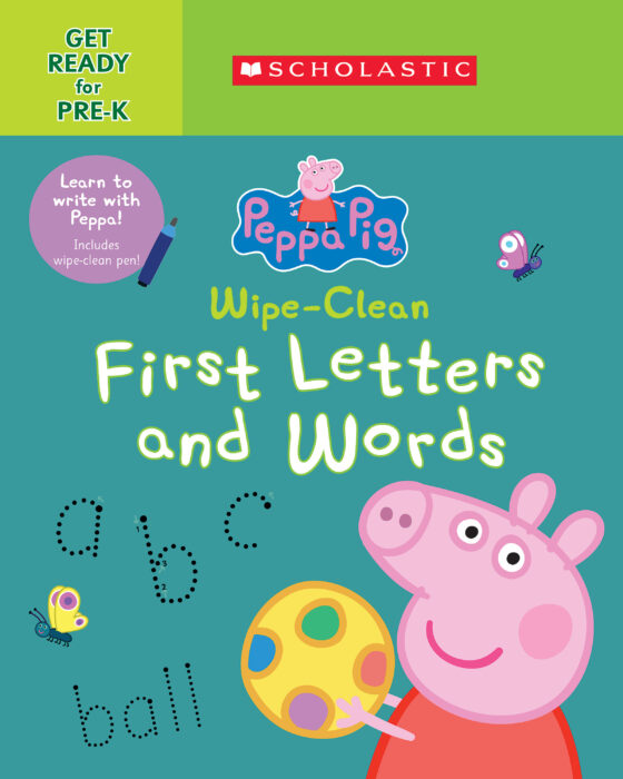 Peppa Pig: Wipe-Clean First Letters and Words